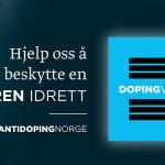 Dopingvarsel er Antidoping Norges nye varslingskanal for doping i idretten.