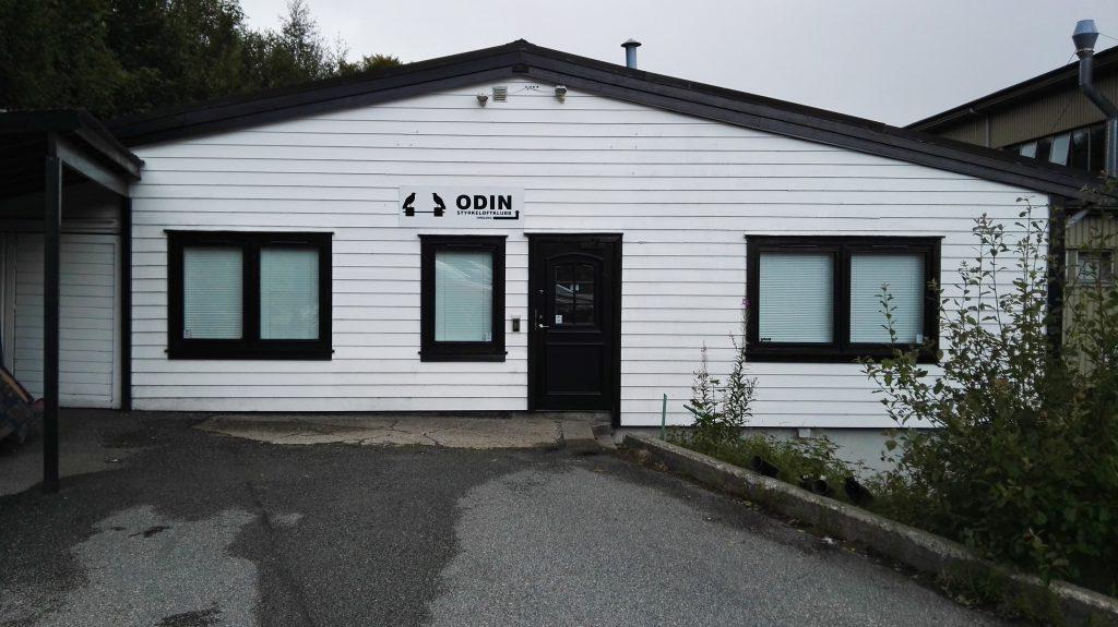 Odins treningslokaler på Laksevåg.